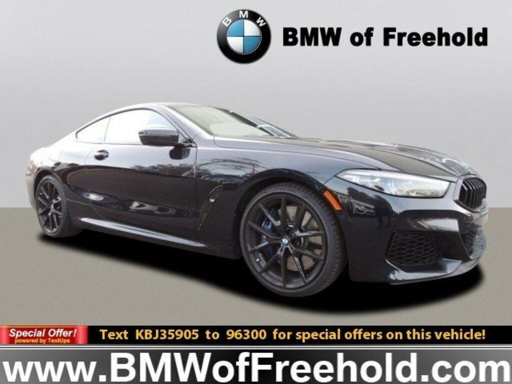 New 2019 Bmw M850i Xdrive Coupe Carbon Black For Sale In New