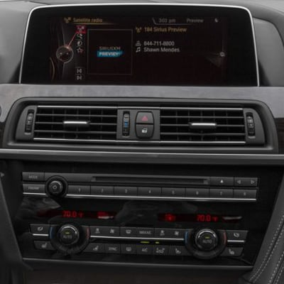 BMW 6 Series Sound System