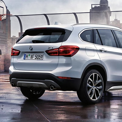 BMW X1 xDrive All-Wheel Drive System
