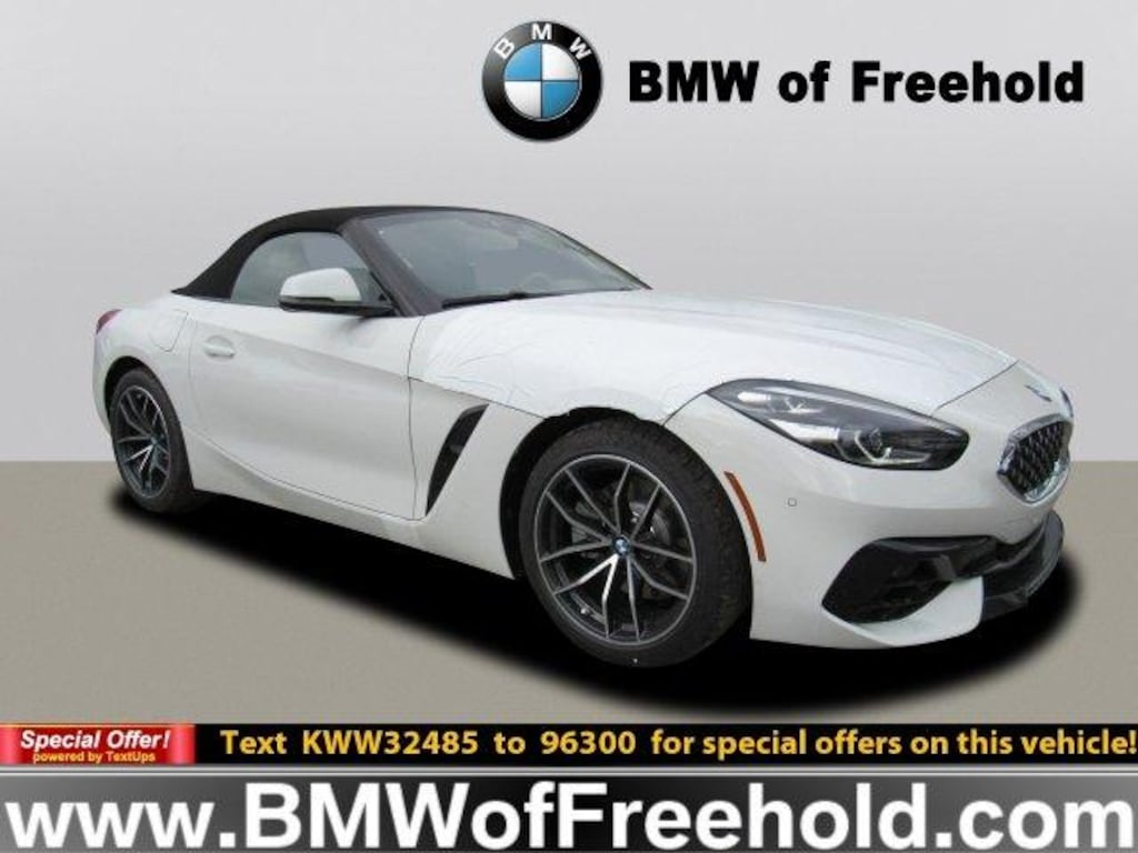 New 2019 Bmw Z4 Convertible Sdrive30i Alpine White For Sale