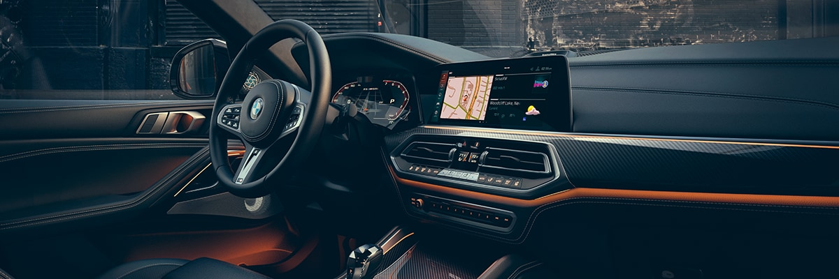 2020 BMW X6 Interior Features