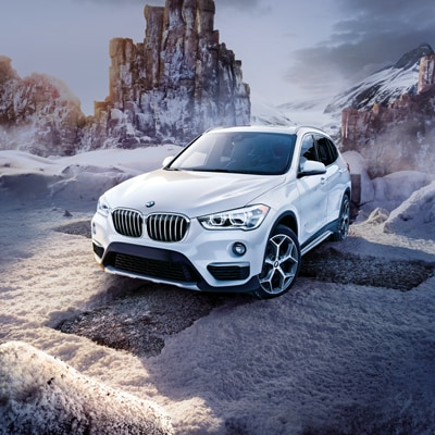 BMW X1 LED Headlights & Cornering Lights