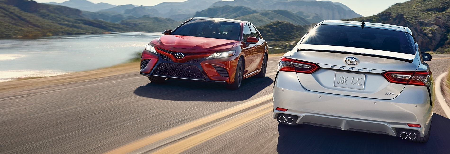 Toyota Camry Exterior Vehicle Features