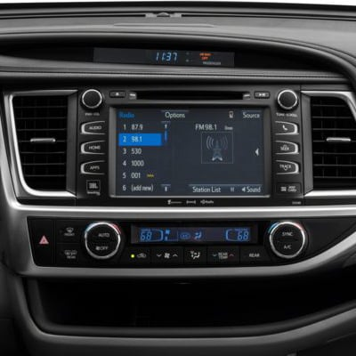 Toyota Highlander Easy Speak System