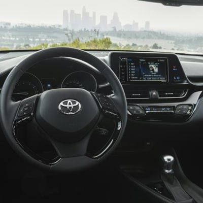 Toyota C-HR Seven-Inch Touchscreen Display