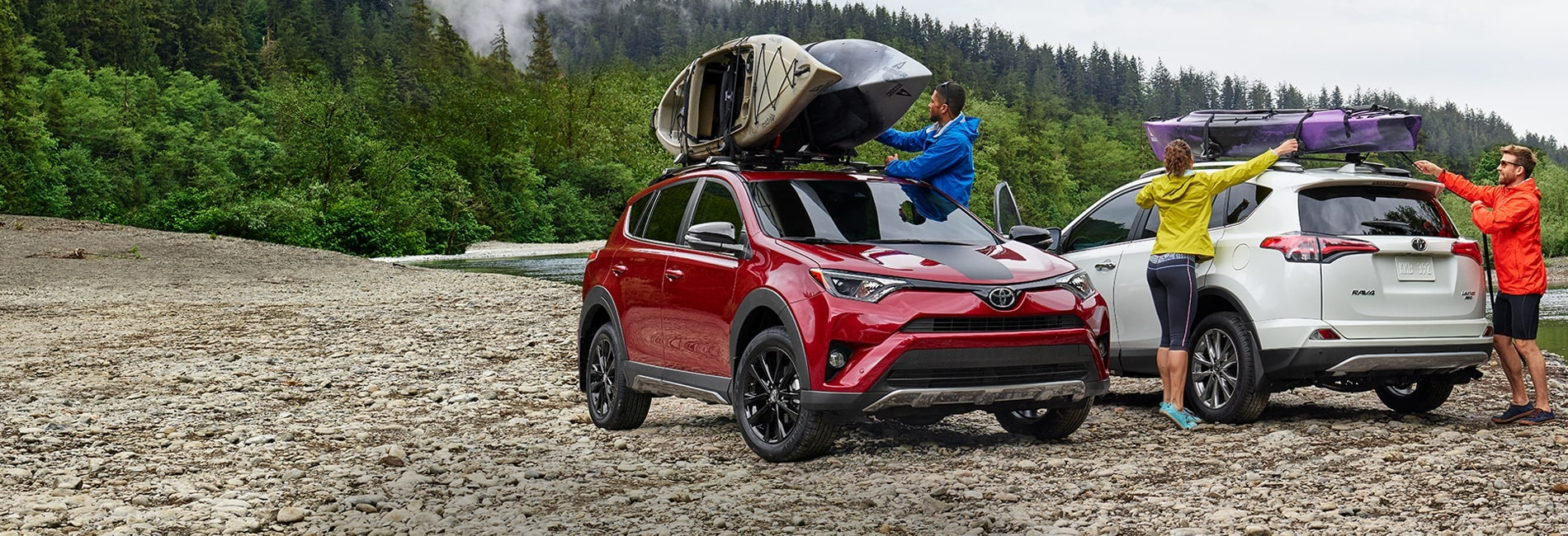 Toyota RAV4 Exterior Vehicle Features
