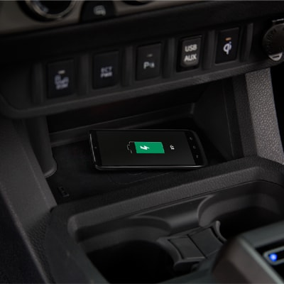 Toyota Tacoma Wireless Charging