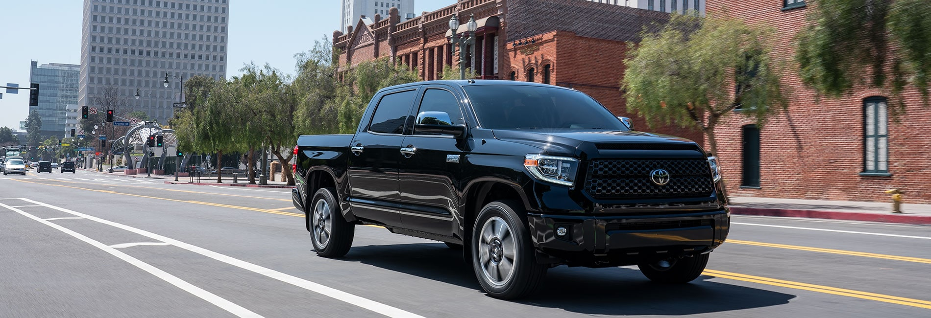 Toyota Tundra Exterior Vehicle Features