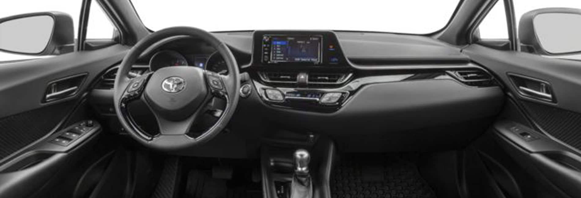 Toyota C-HR Interior Vehicle Features