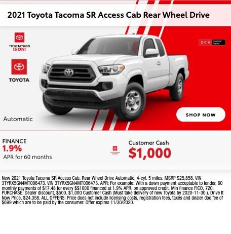 2021 Toyota Tacoma SR Access Cab RWD