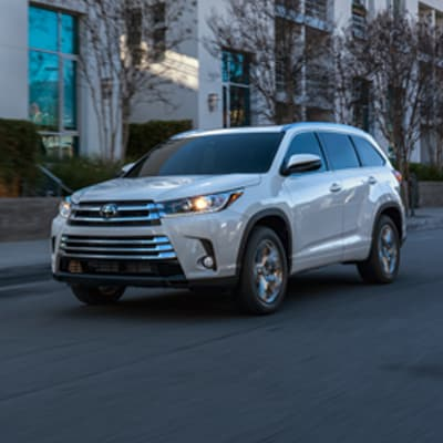 Toyota Highlander Torque-Control All-Wheel Drive