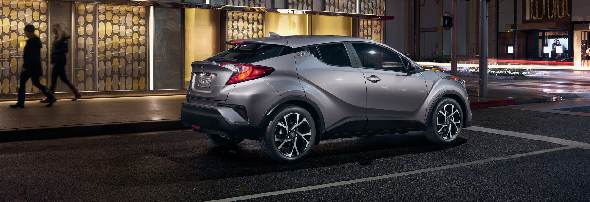 Toyota C-HR Exterior Vehicle Features