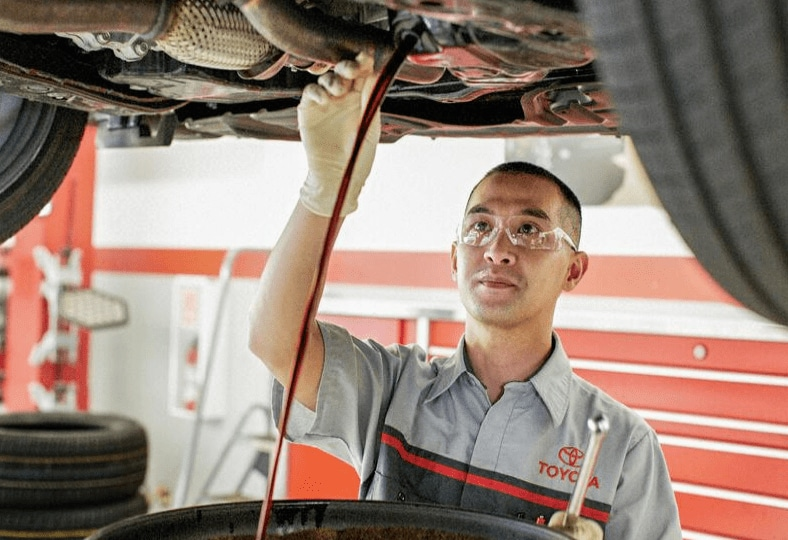 Toyota Maintenance - Schedule Service Appointment