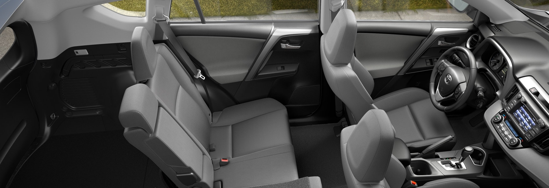 Toyota RAV4 Interior Vehicle Features