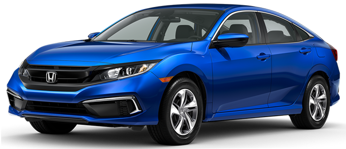 New 2020 Honda Civic at DCH Gardena Honda