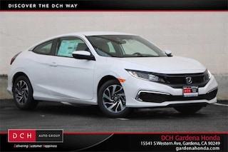 New 2020 Honda Civic LX Coupe Gardena, CA