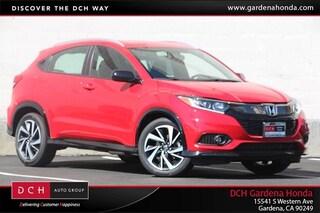 New 2019 Honda HR-V Sport 2WD SUV Gardena, CA