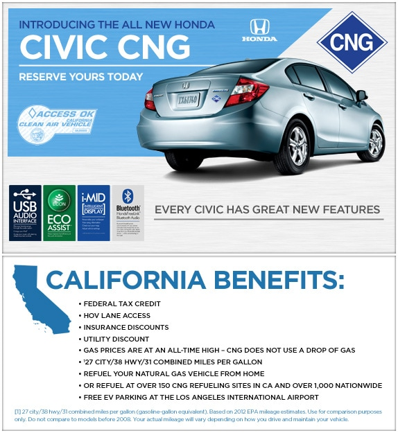 Marvelous Honda Has Renewed Their Commitment To The Environment By Continuing To  Produce The Civic CNG ...