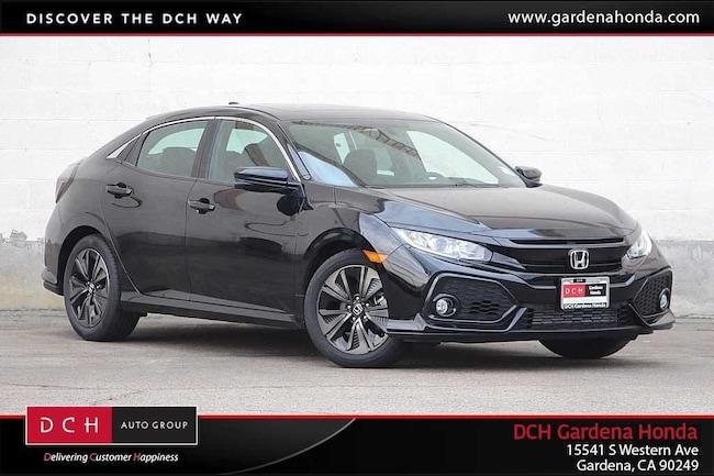 New 2018 Honda Civic EX Hatchback Gardena, CA
