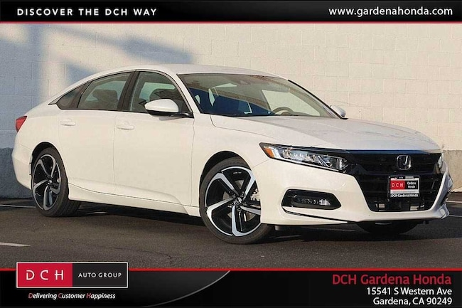 New 2019 Honda Accord Sport Sedan Gardena, CA