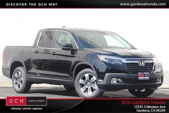 New 2019 Honda Ridgeline RTL AWD Truck Crew Cab Gardena, CA