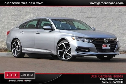 2018 Honda Accord Sport 2 0T Sedan For Sale in Gardena