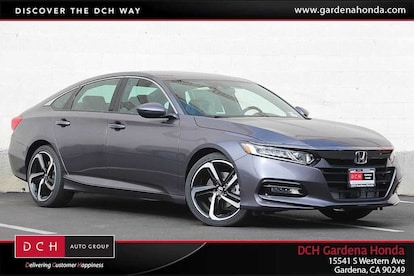 2019 Honda Accord Sport Sedan For Sale in Gardena | Stock