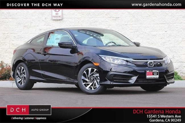 New 2018 Honda Civic LX Coupe Gardena, CA
