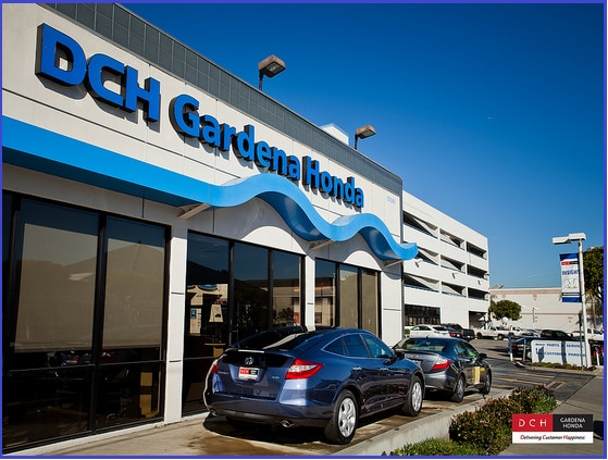 DCH Gardena Honda Exterior ...