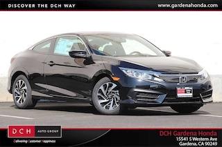 New 2018 Honda Civic LX-P Coupe Gardena, CA