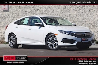 New 2018 Honda Civic LX Sedan Gardena, CA