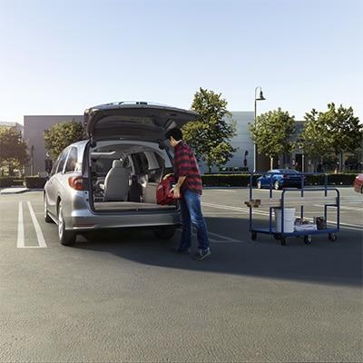 2018 Honda Odyssey Trunk Access