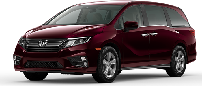 New 2020 Honda Odyssey EX at DCH Honda of Mission Valley