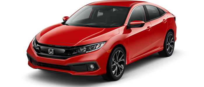 New 2019 Honda Civic at DCH Honda of Mission Valley