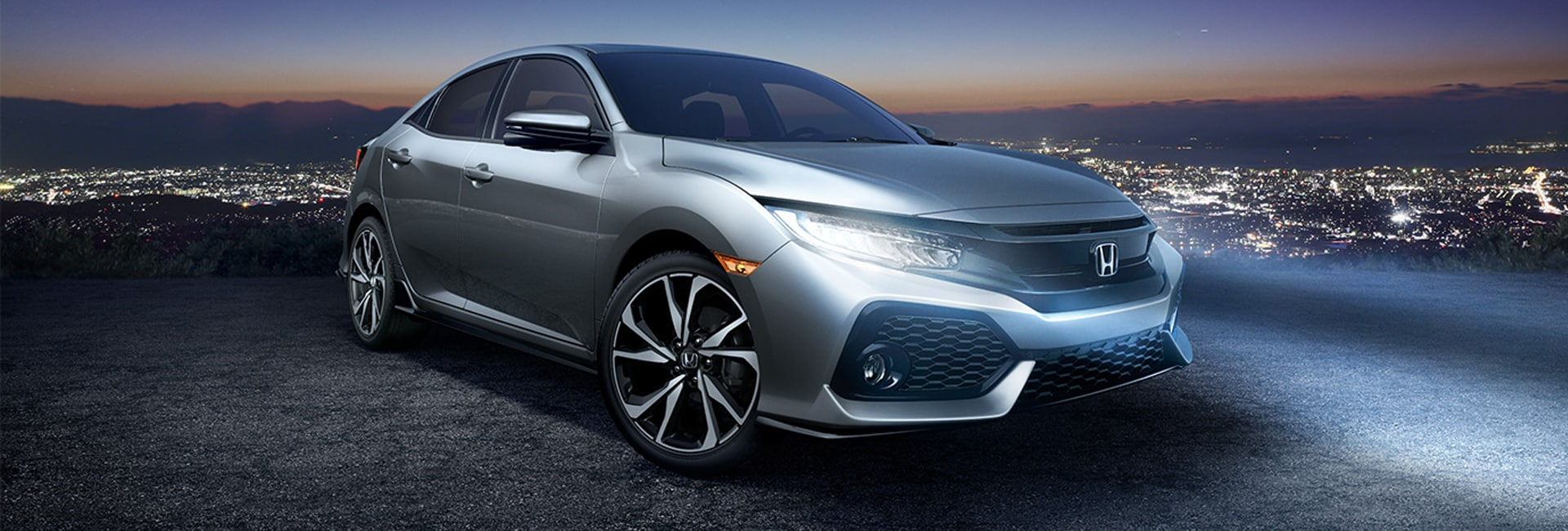 2017 Honda Civic Hatchback Exterior Features
