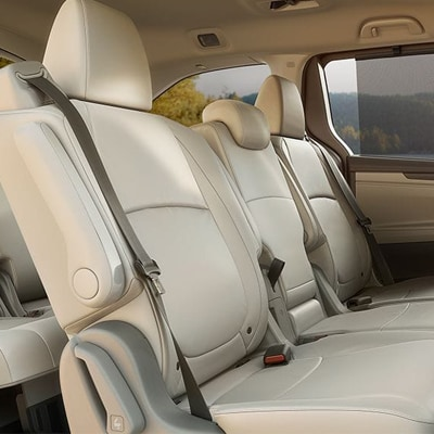 2018 Honda Odyssey Seating Features