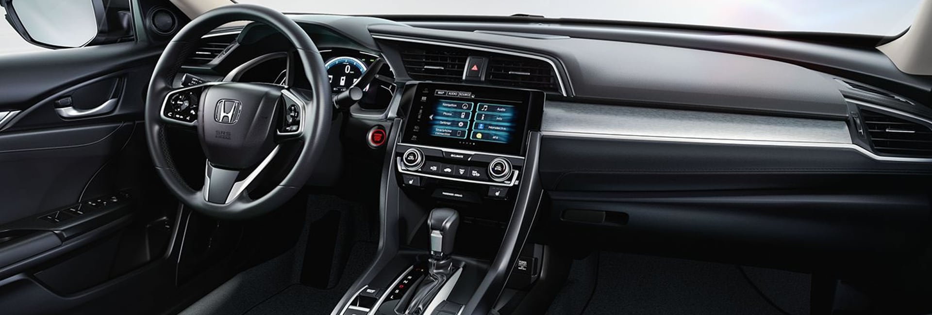 2019 Honda Civic Interior Features