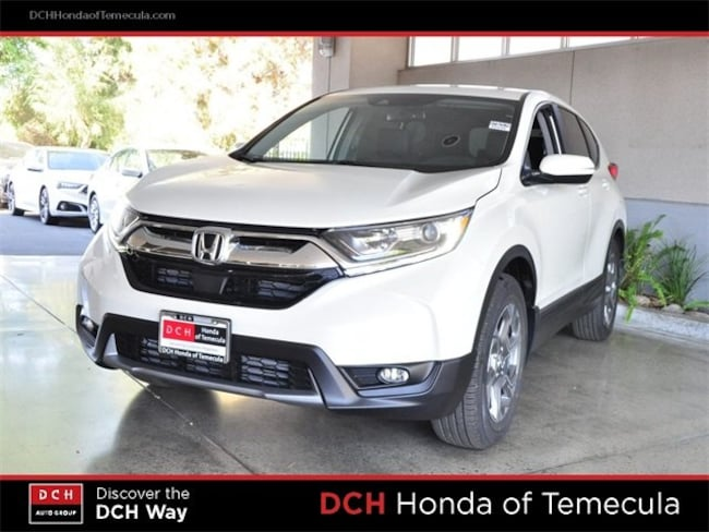 New 2019 Honda Cr V Ex L 2wd Platinum White Pearl For Sale