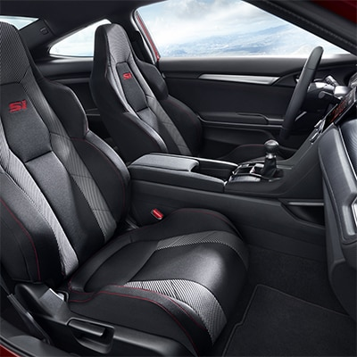 2017 Honda Civic Interior Comfort