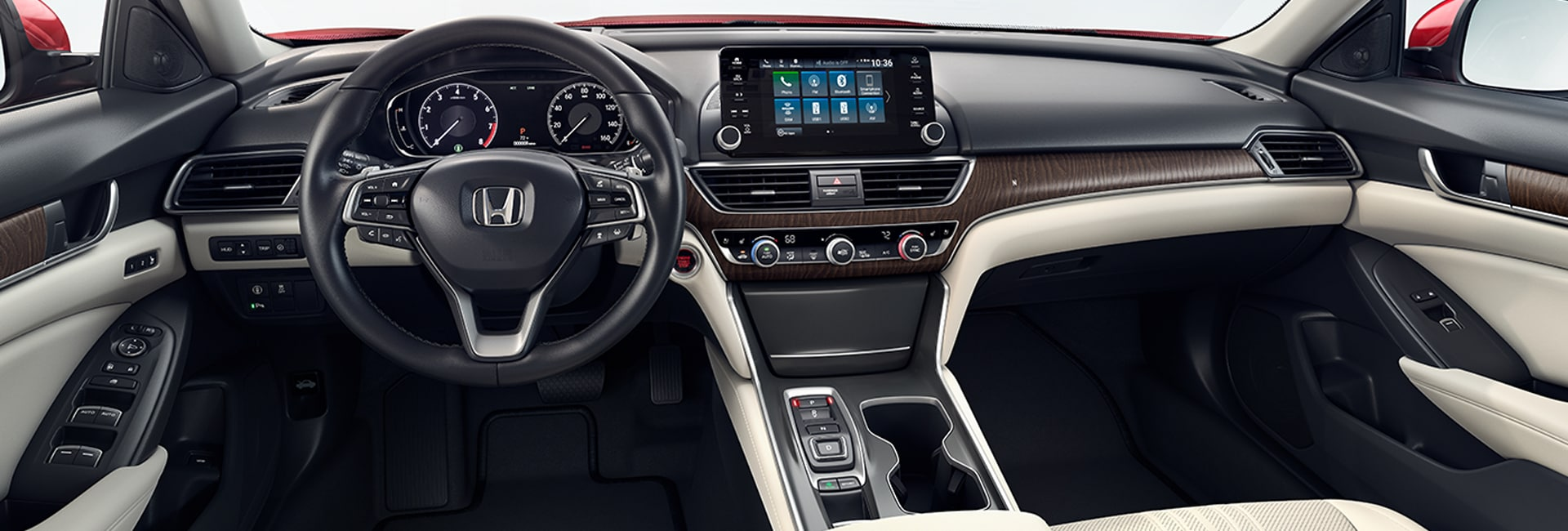 Honda Accord Interior and Exterior Vehicle Features