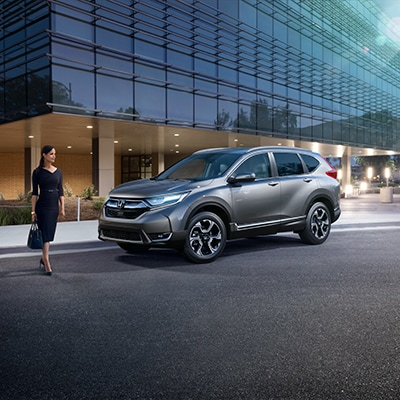 Honda CR-V Interior and Exterior Vehicle Features