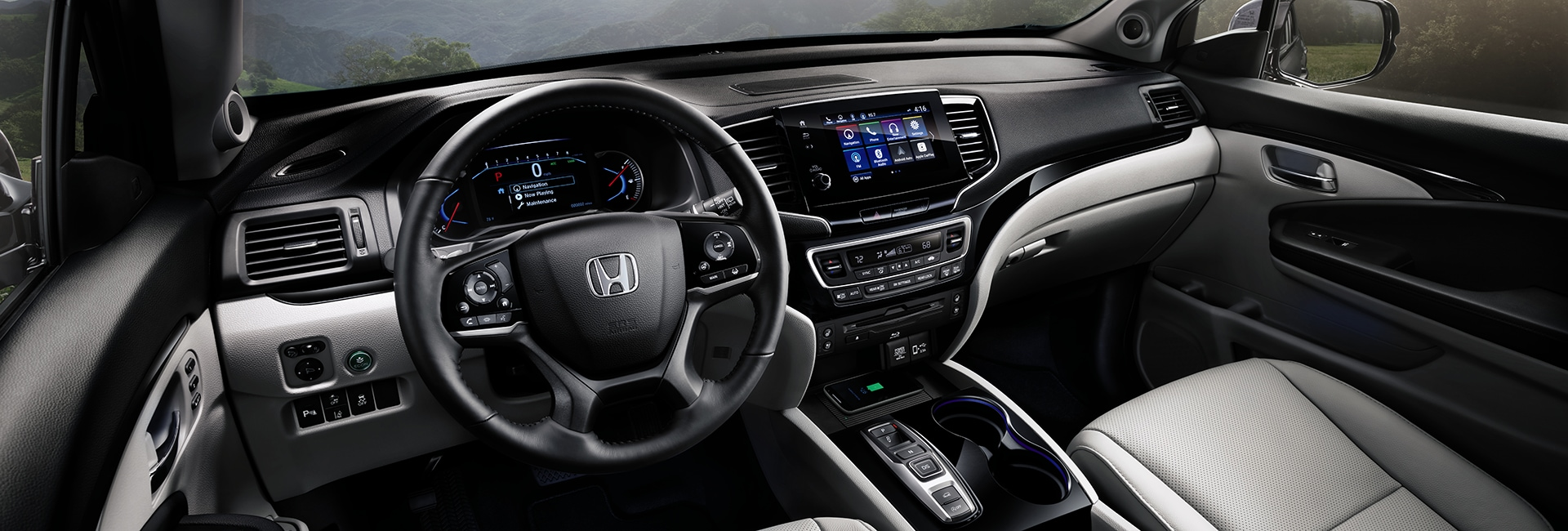 2019 Honda Pilot Interior Features
