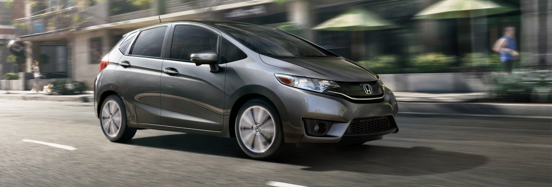New 2018 Honda Fit Gray Exterior