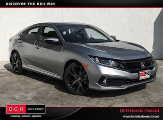 New 2019 Honda Civic Sport Sedan Oxnard, CA