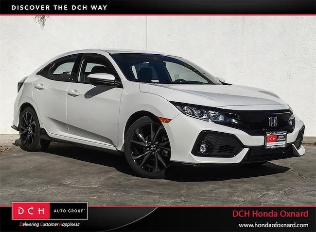 New 2019 Honda Civic Sport Hatchback Oxnard, CA