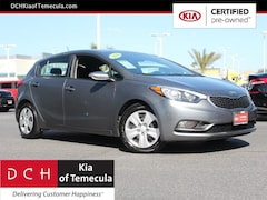Certified Pre-Owned Vehicles 2016 Kia Forte LX FWD Hatchback for sale in Temecula, CA