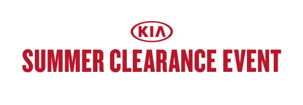 Kia Summer Clearance Event
