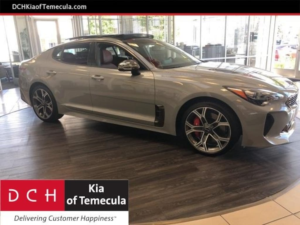 New 2019 kia stinger gt2 sedan snow white pearl for sale in