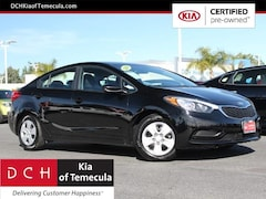Certified Pre-Owned Vehicles 2016 Kia Forte LX FWD Sedan for sale in Temecula, CA