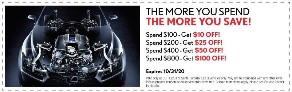 The More You Spend The More You Save!